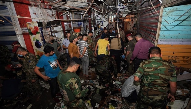 Кількість жертв теракту на ринку Багдада зросла до 25