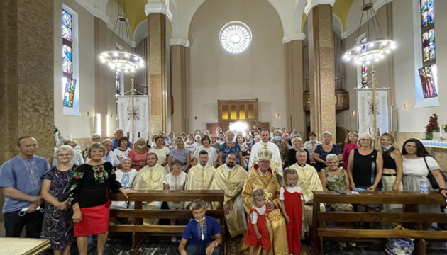 В Італії представники УГКЦ відвідали українську громаду міста Пескара