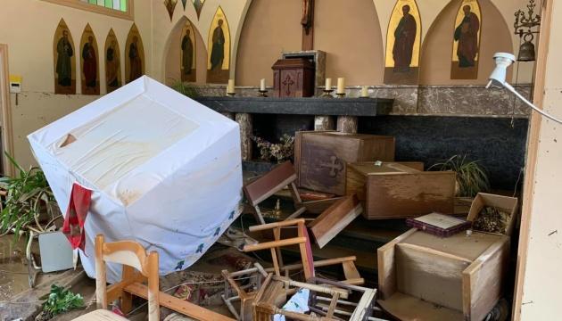 У бельгійському Льєжі відновлють постраждалий від повеней храм УГКЦ