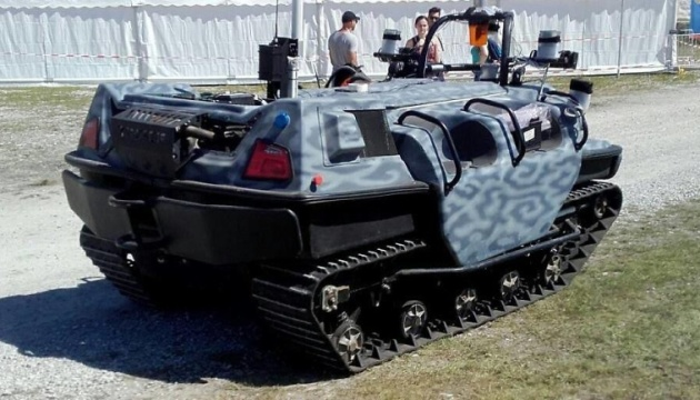 Австрійська армія випробовує роботизовані транспортери