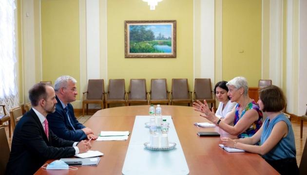 Сибіга зустрівся зі співзасновницею німецького «Центру ліберальної сучасності»
