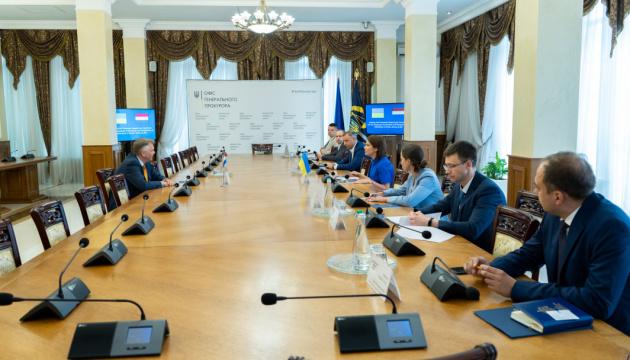 Венедіктова обговорила з послом Нідерландів справу МН17