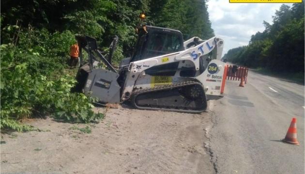 На Хмельнитчине начался ремонт автодороги национального значения