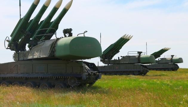 Украинские военные возле Крыма тренировались отбивать авиаудары с помощью «Буков»