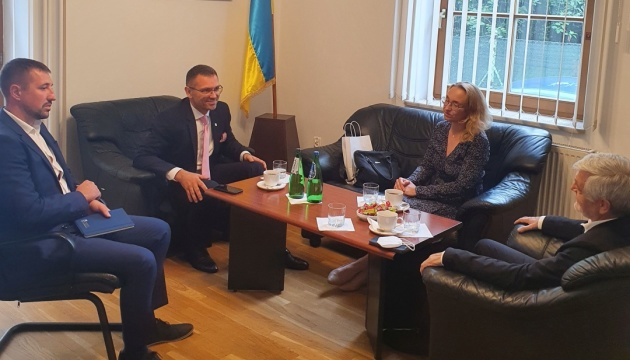 У Польщі генконсул подякував товариству «Вілла Децеюша» за популяризацію української культури