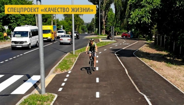 В Виннице до конца года протяженность велосети увеличится на 13%