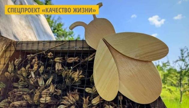 В музее Довженко на Черниговщине создали «отель» для насекомых