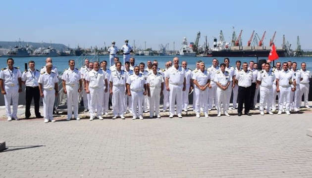 Українські військові взяли участь у багатонаціональних навчаннях в Чорному морі