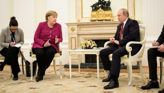 Merkel y Putin discuten el Nord Stream 2 y los Acuerdos de Minsk