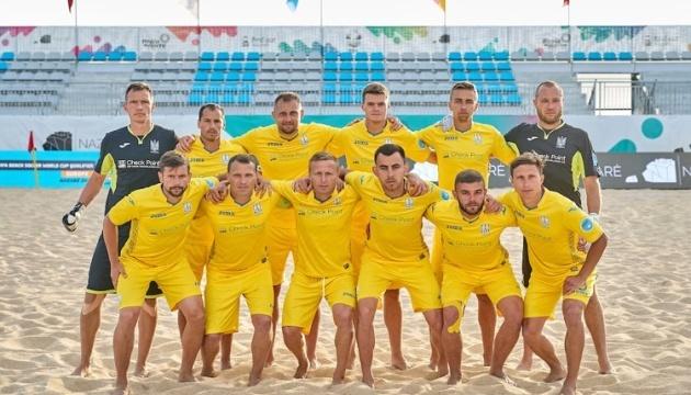 Украина огласила состав на Кубок Независимости по пляжному футболу