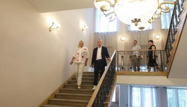 Ткаченко перевірив, як реставрують «Софію Київську»