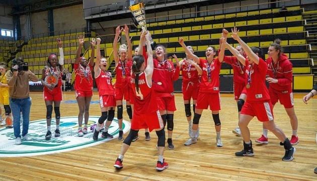 Чемпионки Украины по баскетболу сыграют в Еврокубке ФИБА
