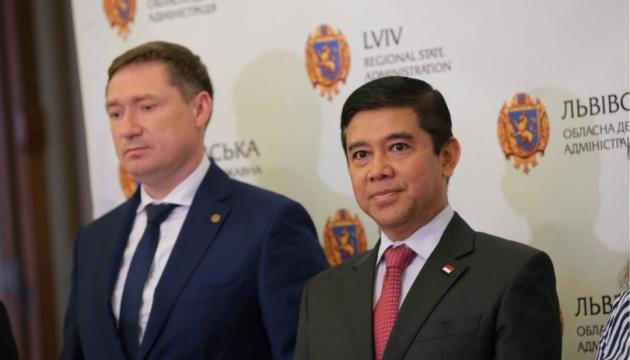 У Львові відкрили почесне консульство Індонезії