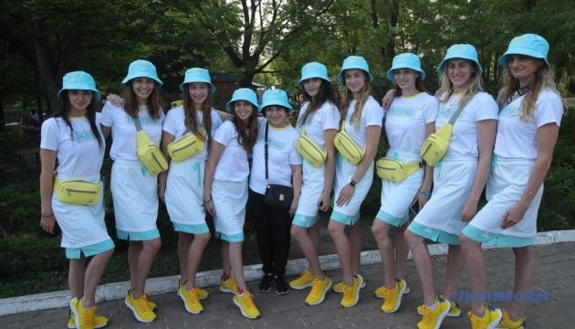 Збірну України з синхронного плавання провели на Олімпійські ігри в Токіо