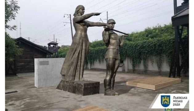 Центральные скульптуры львовского Монумента Славы перенесут в музей