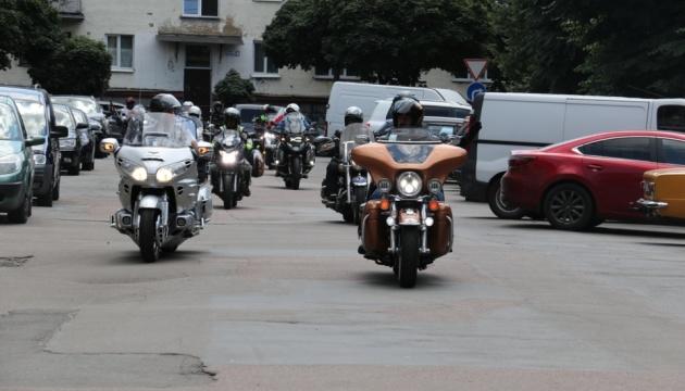 Учасники «Мотопробігу Єдності» завітали до Житомира