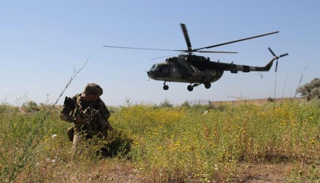 Десант морпехов «взял под контроль» стратегический объект