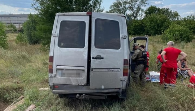 На Луганщине перевернулась маршрутка - пятеро пострадавших