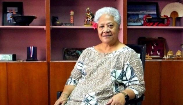 Премьером Самоа впервые стала женщина