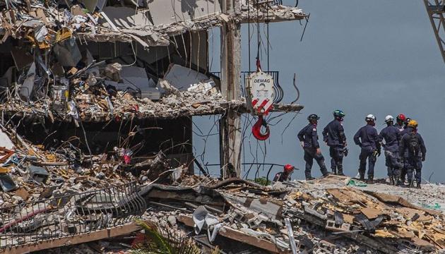 У Майамі завершили пошуки жертв обвалу 12-поверхової вежі