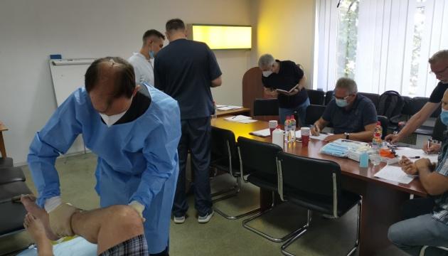 Медики Бундесвера готовят раненых украинских военных к отправке в Германию