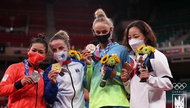 Дзюдоистка Билодид стала бронзовой призеркой Олимпийских игр