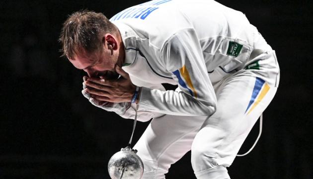 Токіо-2020. День 2. Рейзлін здобув «бронзу»  з фехтування