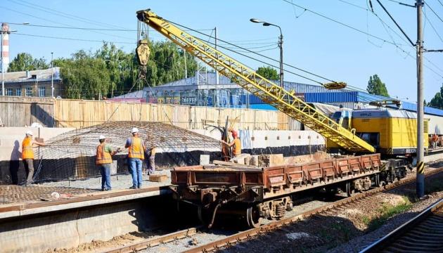 Вперше за 44 роки: на Святошині відкриють реконструйовану залізничну платформу