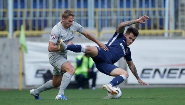 «Ворскла» не смогла в большинстве обыграть «Днепр-1» в матче утбольной Премьер-лиги