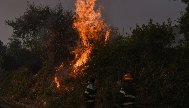 Сардинию охватили масштабные лесные пожары - объявили чрезвычайное положение