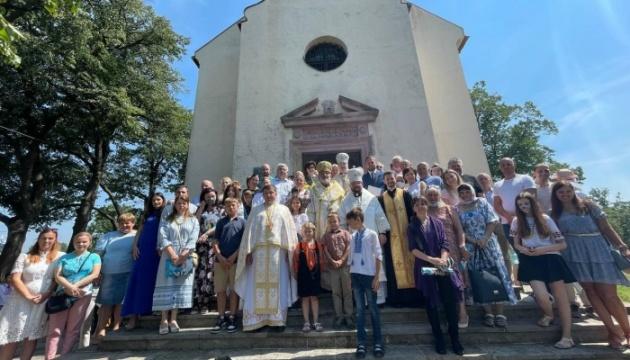У Братиславі владика Степан Сус відслужив для українців літургію