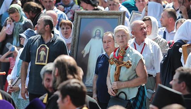 Kreuzzug Moskauer Patriarchats in Kyjiw versammelt mehr als 20.000 Gläubige