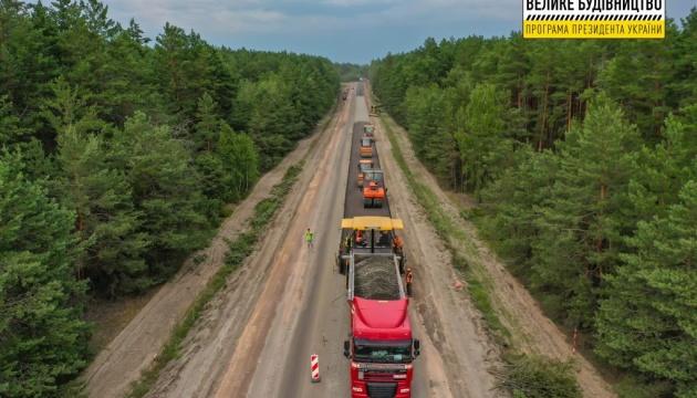 Возле Бердичева строят двухуровневую развязку для маршрута Киев - Кишинев