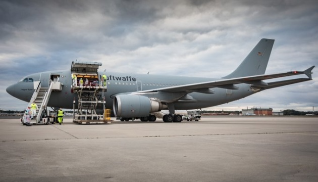 На лечение в Германию прибыли еще 15 украинских военных