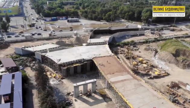 В Херсоне завершили сооружение части путепровода «ХБК-Таврический»