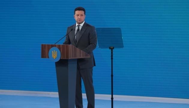 Мир на сході України залежить від Росії, а не від децентралізації – Зеленський