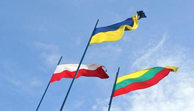 Ministros de Exteriores de Ucrania, Lituania y Polonia hablan con motivo del aniversario del Triángulo de Lublin