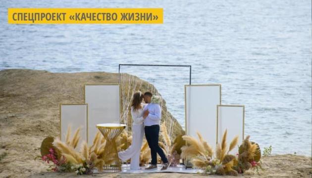 На Прикарпатье впервые зарегистрировали «Брак за сутки» на Домбровском карьере