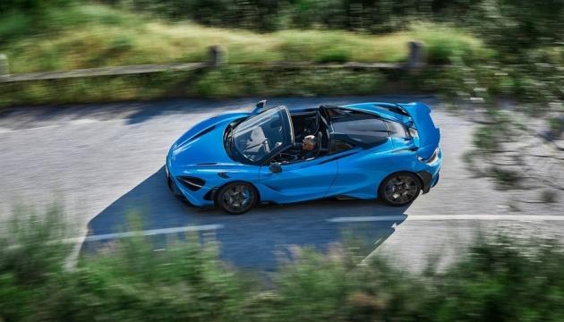 «Павучок-кабріолет»: McLaren представила новий спорткар