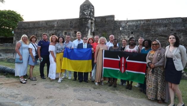 У Східній Африці з'явився перший україномовний аудіогід