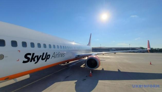 SkyUp із 19 серпня почне літати до Франції