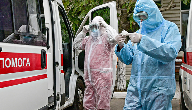 Na Ukrainie zarejestrowano 846 nowych przypadków COVID-19