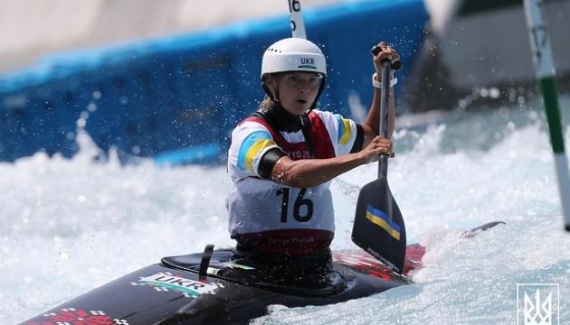 Виктория Ус вышла в финал гребного слалома на каноэ в олимпийском Токио