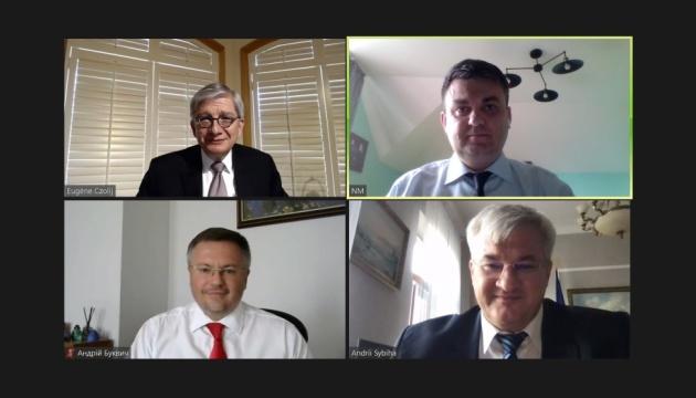 Евген Чолій провів зустріч із заступником керівника Офісу Президента України