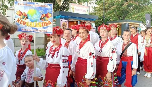 На фестивалі в Північній Македонії виступив український ансамбль танцю
