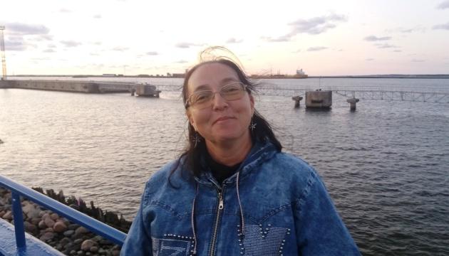 Громада Вентспілса познайомилася з київською поеткою Наталією Бельченко
