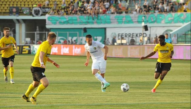 «Ворскла» проиграла финскому КуПС в квалификации Лиги конференций УЕФА