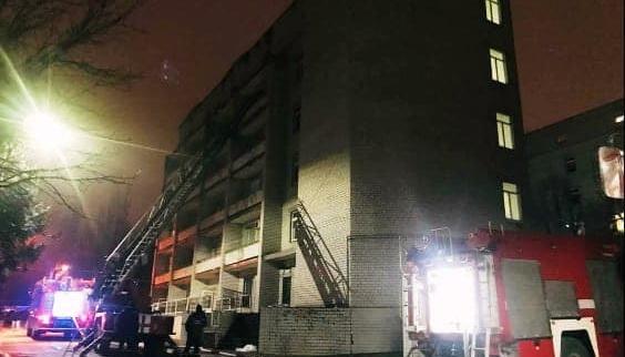 У Запоріжжі звільнили директора лікарні, де сталася смертельна пожежа