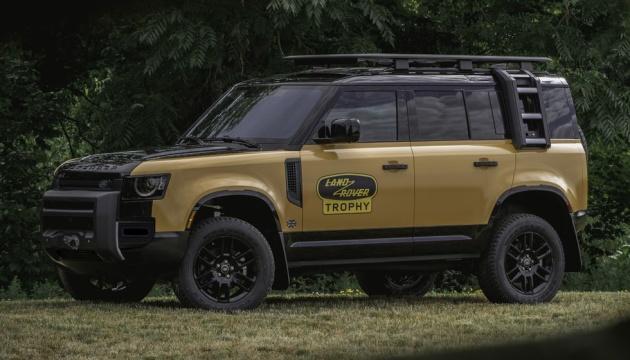 Land Rover представил мощный внедорожник с камерами на 360°