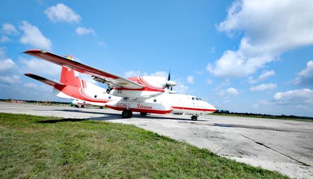Українські пожежні літаки вирушили на допомогу Туреччині